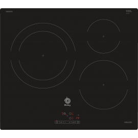Encimera inducción Balay 3EB865ER sustututa de 3EB815LR, 3 zonas, Negro