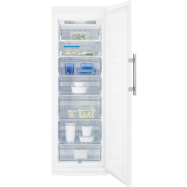 Congelador vertical ELECTROLUX EUF2744AOW, No Frost, Inoxidable, Clase A+