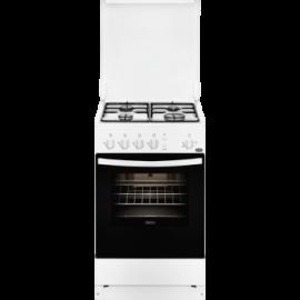 Cocina a gas ZANUSSI ZCG210H1WA, 4 zonas, Blanco