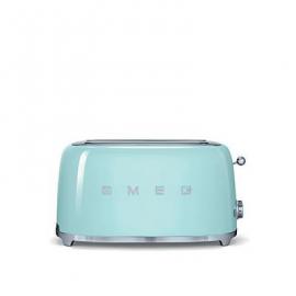 Tostadora SMEG TSF02PGEU, color verde agua