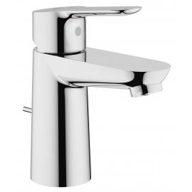 Grifo de lavabo GROHE 23328000 Bauedge  35mm vaciador, Cromo, Sobre encimera