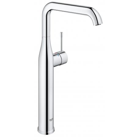 Grifo de lavabo GROHE 32901001 Essence 28mm Eco c/liso XL, Cromo, Sobre encimera