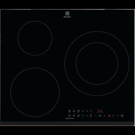Encimera inducción ELECTROLUX KITCHEN KIT60336B, 3 zonas, Negro, acabado biselado