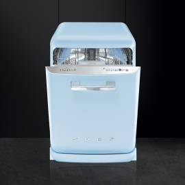 Lavavajillas 60 cm. SMEG LVFABPB, 13 cubiertos, Azul, Clase A+++