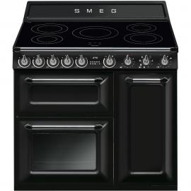 Cocina eléctrica  SMEG TR93IBL, Más de 4 zonas, Negro