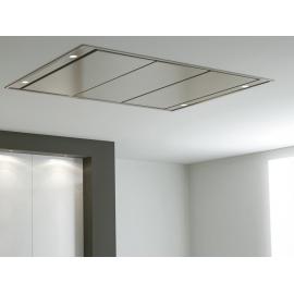 Campana de techo  PANDO E-210/110X70 BLANCA 1350 SEC 9708, Más de 90 cm, Blanco, Clase A