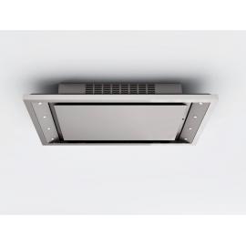 Campana de techo  PANDO E-225/120 BL V.1000 ECO FCA 9746, Más de 90 cm, Blanco, Clase A