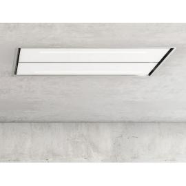 Campana de techo  PANDO E-231/130 CR-BL V.1000 ECO SEC 9749, Más de 90 cm, Blanco, Clase B