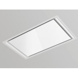 Campana de techo  PANDO E-297/950X560 IX/CR.BL 1000 ECO SEC 9801, Más de 90 cm, Blanco, Clase A