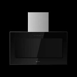 Campana decorativa EAS ELECTRIC EMRH908VRT-N, 90 cm, Negro, Clase A