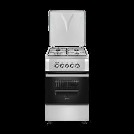 Cocina a gas EAS ELECTRIC EFG555X, 4 zonas, Inoxidable