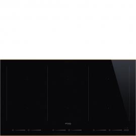 Encimera inducción  SMEG Kitchen SIM693WLDR, Flexible, Negro, ,