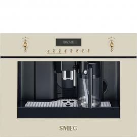 Cafetera  SMEG Kitchen CMS8451P, Integrable, Crema