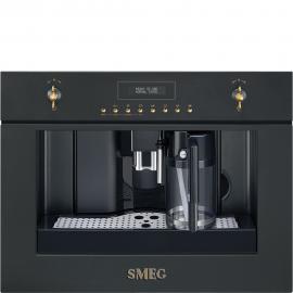 Cafetera  SMEG Kitchen CMS8451A, Integrable, Antracita