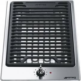 Encimera modular SMEG kitchen PGF30B, 1 zona, Inoxidable