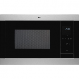 Microondas AEG MSB2547DM, Integrable, Con Grill, Inoxidable