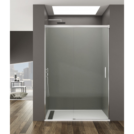 Mampara de ducha GME BASIC 5401, frontal 1 fijo+ 1corredera