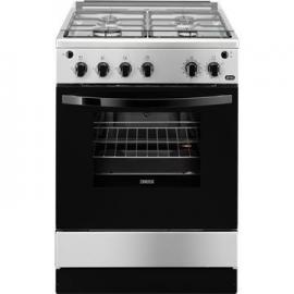 Cocina a gas ZANUSSI ZCG61281XA, 4 zonas, Inoxidable,