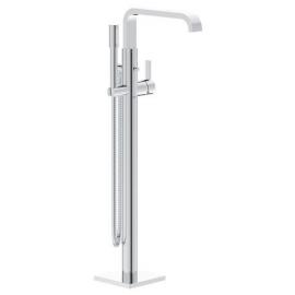 Grifo de baño  GROHE 32754002 Allure monomando para baño ducha de pie, Cromo Sobre encimera