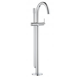 Grifo de baño  GROHE 32653003 Atrio New Monomando para baño ducha 1/2 de pie, Cromo Sobre encimera