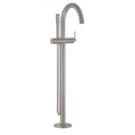 Grifo de baño  GROHE 32653DC3 Atrio New Monomando para baño ducha 1/2 de pie, Cromo Sobre encimera