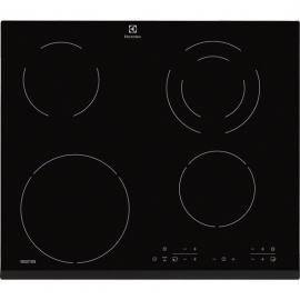 Encimera inducción ELECTROLUX EHG6341FOK, 4 zonas, Negro, acabado biselado