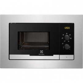 Microondas integrable ELECTROLUX EMM20007OX, Sin Grill, Inoxidable