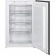 Congelador vertical SMEG Kitchen S3F0922P, Cíclico, Integrable, Clase A++