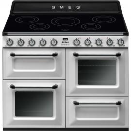 Cocina eléctrica SMEG TR4110IWH , Más de 4 zonas, Blanco,, Zona Gigante