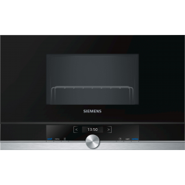 Microondas integrable SIEMENS BE634LGS1 OLIMPO 50, Con Grill, Negro