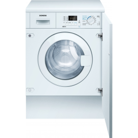 Lavadora secadora SIEMENS WK12D321EE, 7 Kg lavado 4 Kg secado, de 1200 r.p.m., Integrable, Clase A+