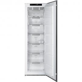 Congelador vertical SMEG Kitchen S7220FND2P1, No Frost, Integrable, Clase A++