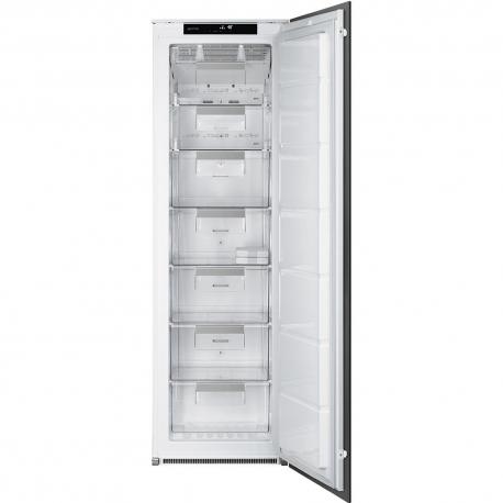 Congelador vertical SMEG Kitchen S7220FNDP1, No Frost, Integrable, Clase A+
