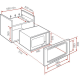 Microondas integrable TEKA MWL 22 EGR, Con Grill, Inoxidable