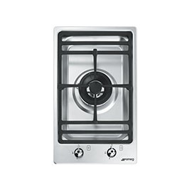 Encimera a gas SMEG kitchen PGF31G1, 1 zona, Inoxidable