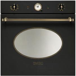 Horno multifunción SMEG kitchen SFP805AO, Pirolítico, Antracita, Clase A