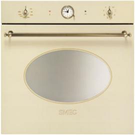 Horno multifunción SMEG kitchen SFP805AO, Pirolítico, Crema, Clase A