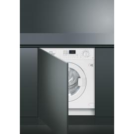 Lavadora secadora SMEG KITCHEN LSTA147, 7 Kg lavado 4 Kg secado, de 1400 r.p.m., Blanco, Clase A+