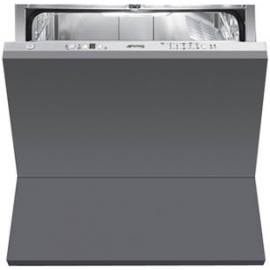 Lavavajillas compacto SMEG kitchen STC75, 10 cubiertos, Integrable, Clase A+