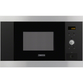 Microondas ZANUSSI ZBM17542XA, Integrable, Con Grill, Inoxidable
