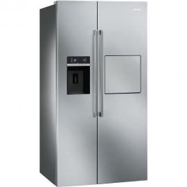 Americano Syde by Syde SMEG SBS63XEDH, No Frost, Inoxidable, Clase A+