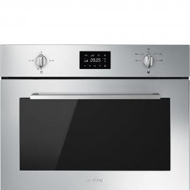 Microondas SMEG SF4400MX, Integrable, Sin Grill, Inoxidable