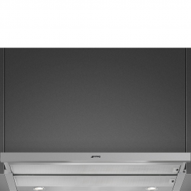 Campana extraible SMEG KSET900HXE, 90 cm, Inoxidable, Clase A