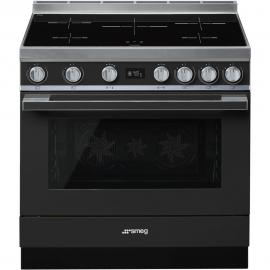 Cocina con horno eléctrico SMEG CPF9IPAN, Más de 4 zonas, Antracita Clase A+