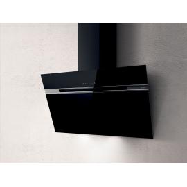 Campana decorativa  ELICA STRIPE BL/A/90 PRF0101143B , 90 cm, Negro, Clase B