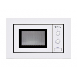 Microondas integrable BALAY 3WMB1918, Sin Grill, Blanco