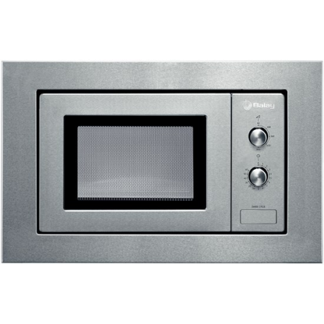Microondas integrable BALAY 3WMX1918, Sin Grill, Inoxidable