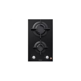 Encimera modular De DIETRICH DPG7340B, 2 zonas, Negro, acabado cristal,