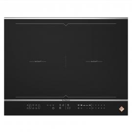 Encimera inducción  DPI7689XS, Flexible, Negro, acabado premium,