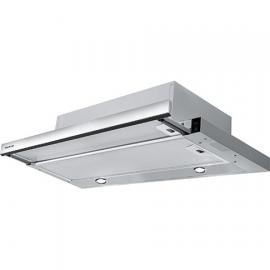 Panel de Control: Electromecánicos, Iluminación: 2 x 20 W halógena, Filtro Antigrasas: Aluminio multicapa, Evacuación Ø: 1